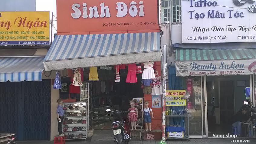 Sang shop thời trang trẻ em Sinh Đôi