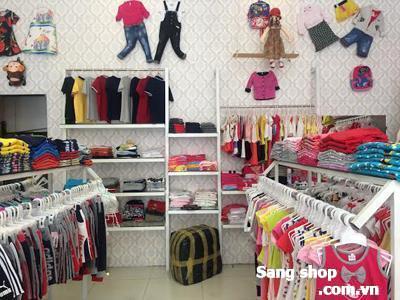 Sang shop thời trang trẻ em tại quận 7