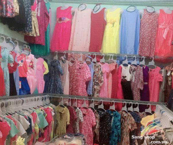 Sang shop thời trang trẻ em trông chợ cầu đông mới