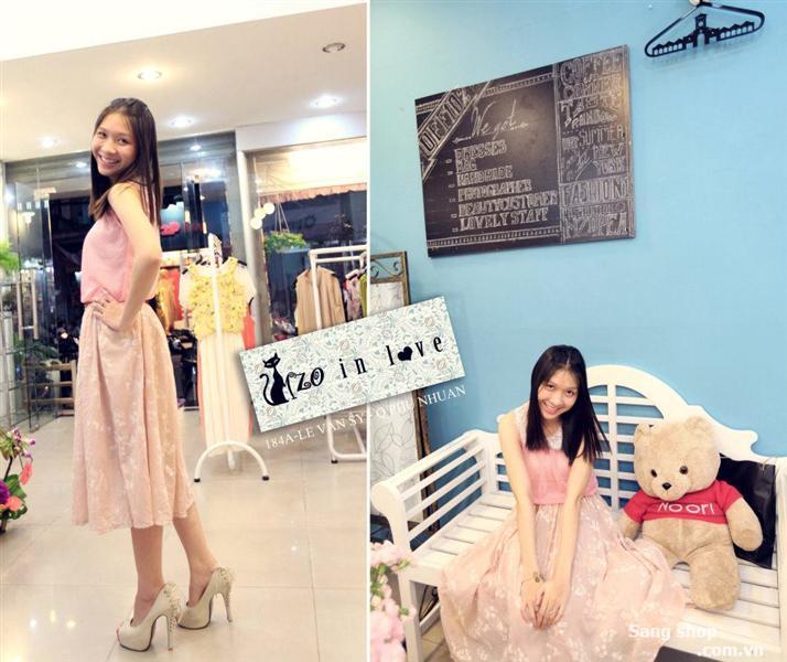Sang shop thời trang trên đường Lê Văn Sỹ