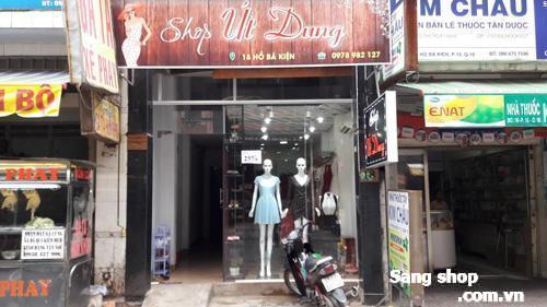 Sang shop thời trang trung tâm quận 10