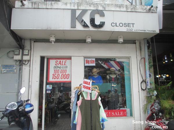 Sang shop thời trang trung tâm quận 3