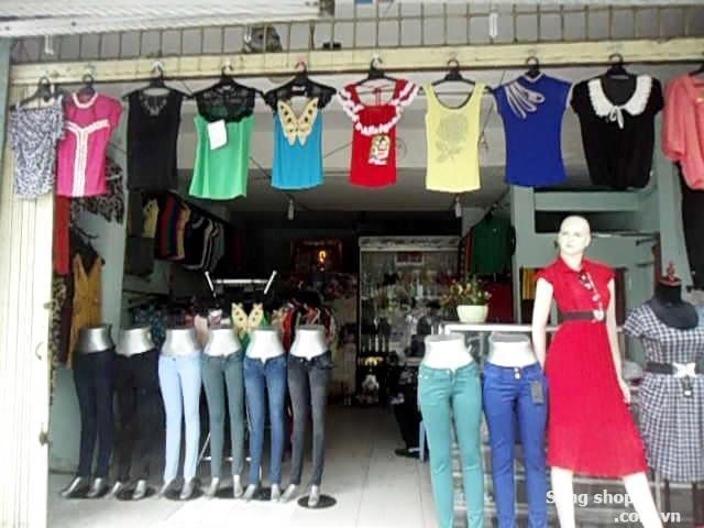Sang shop thời trang trung tâm quận 7