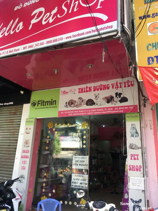 Sang shop thú cưng