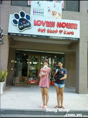 Sang shop thú cưng trung tâm quận 7