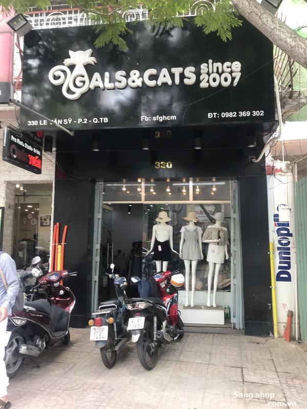Sang shop vị trí đẹp 330 Lê Văn Sỹ