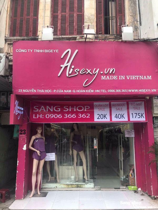Sang shop vị trí đẹp Hoàn Kiếm, Hà Nội