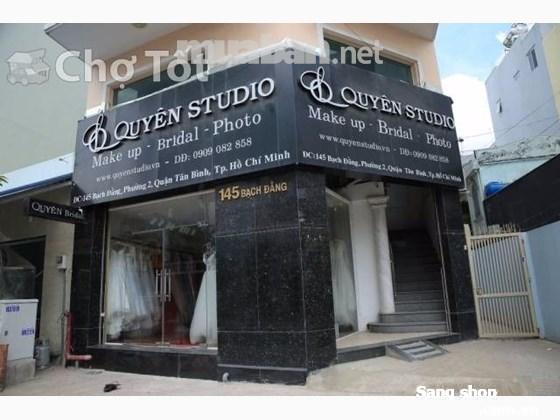 Sang tiệm áo cưới đường Bạch Đằng quận Tân Bình