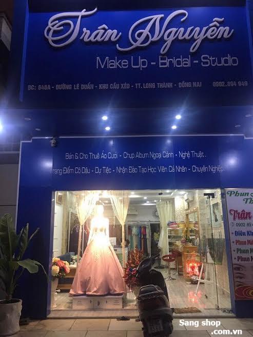 Sang tiệm áo cưới tại TP. Biên Hòa Đồng Nai