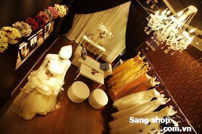 Sang tiệm áo cưới Uyên Bridal 161 Tân Sơn Nhì