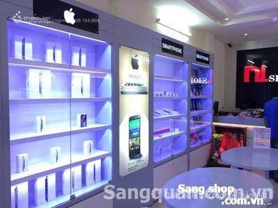 Sang shop Điện Thoại mặt tiền Quận 1.