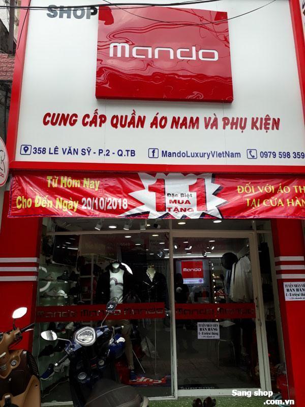 Sang Trang Thiết Bị Shop đường Lê Văn Sỹ