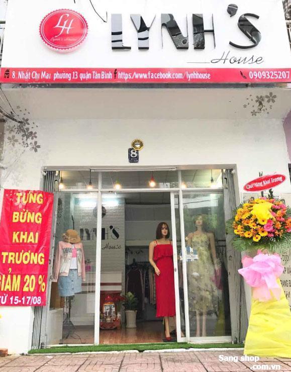 Shop đang hoạt động tốt quận Tân Bình