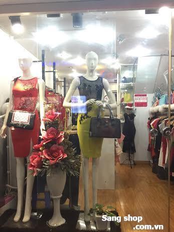 Shop thời trang đường Nguyễn Đình Chiểu