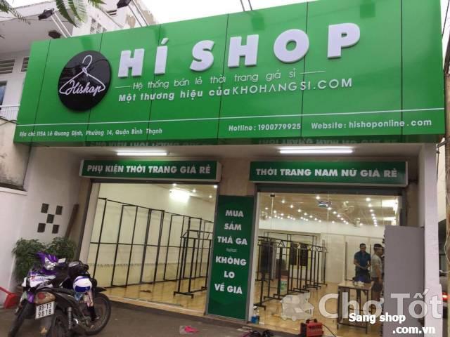 Shop thời trang mới đường Lê Quang Định